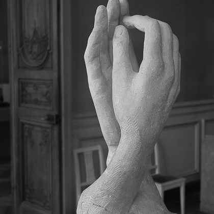 """the Cathedral"". Rodin Museum, Paris"