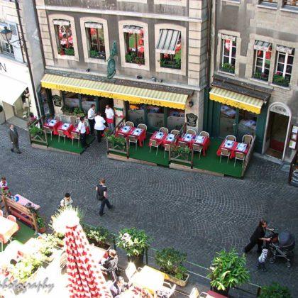 street in Geneve, Swuiss