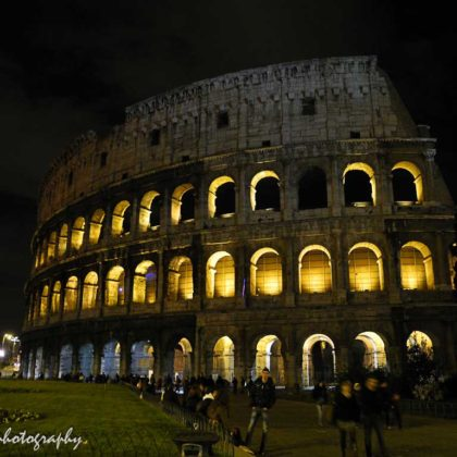 Coliseum also kFlavian Amphitheatre, Rome,