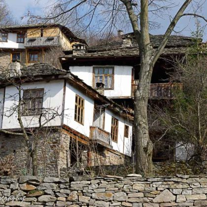 old houses, Kovatchevitza, Bulgaria