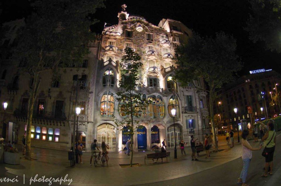 Gaudi, Casa Batllo, Barcelona