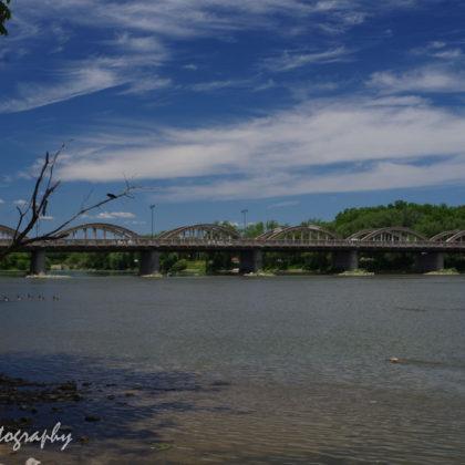 Bridge over Grand River, Caledonia, Ontario