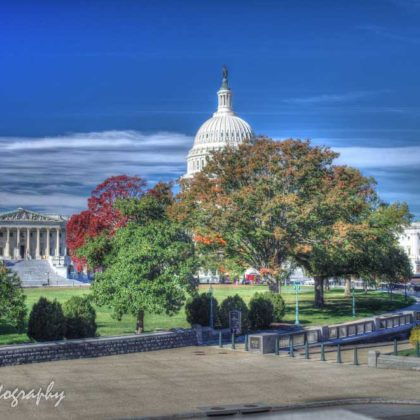 Washington DC, Capitol and Supreme Court