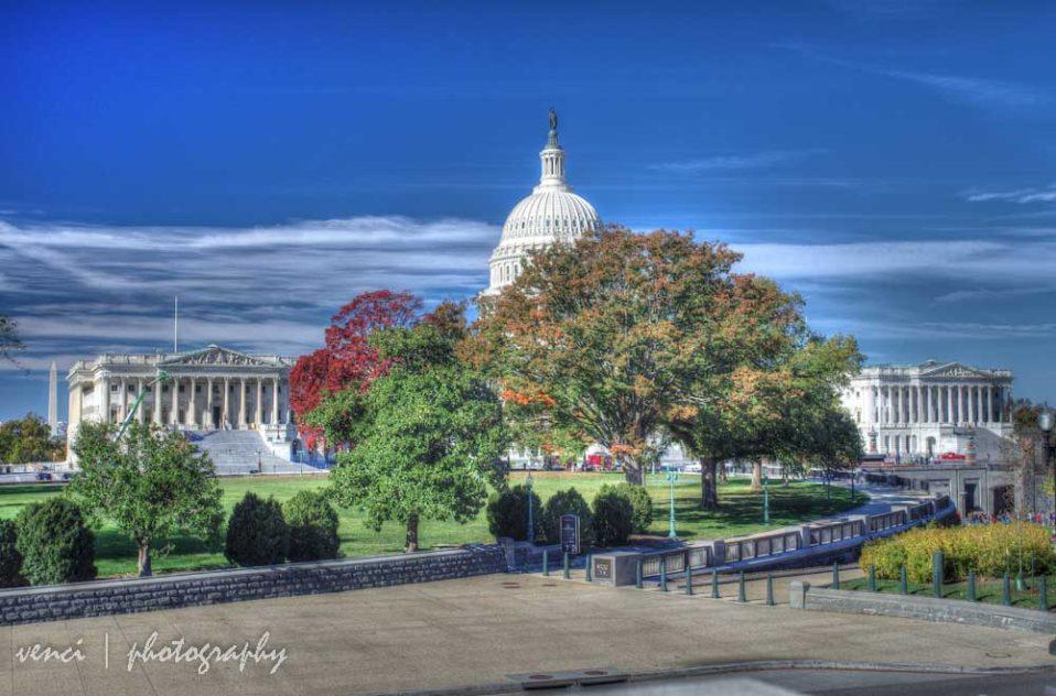 Washington DC, Capitol and Supreme Court
