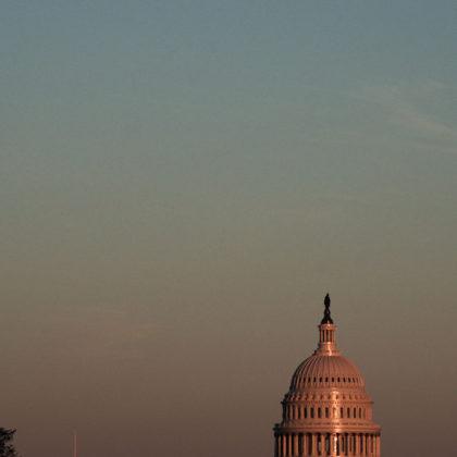 Full Moon over Capitol, Washington DC