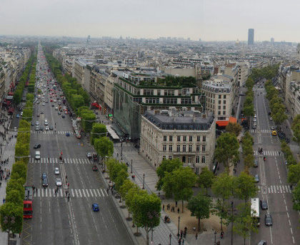 The Champs-Élysées, Paris, France