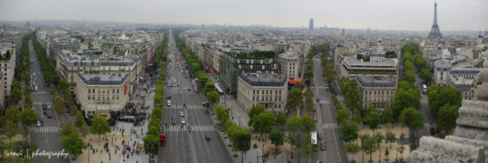 The Champs-Élysées, Paris, France
